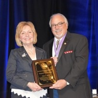 Dr. Martin Presented with ODA Award
