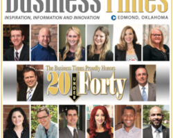 Dr. Ryan Theobald honored with Top 20 under 40 Award