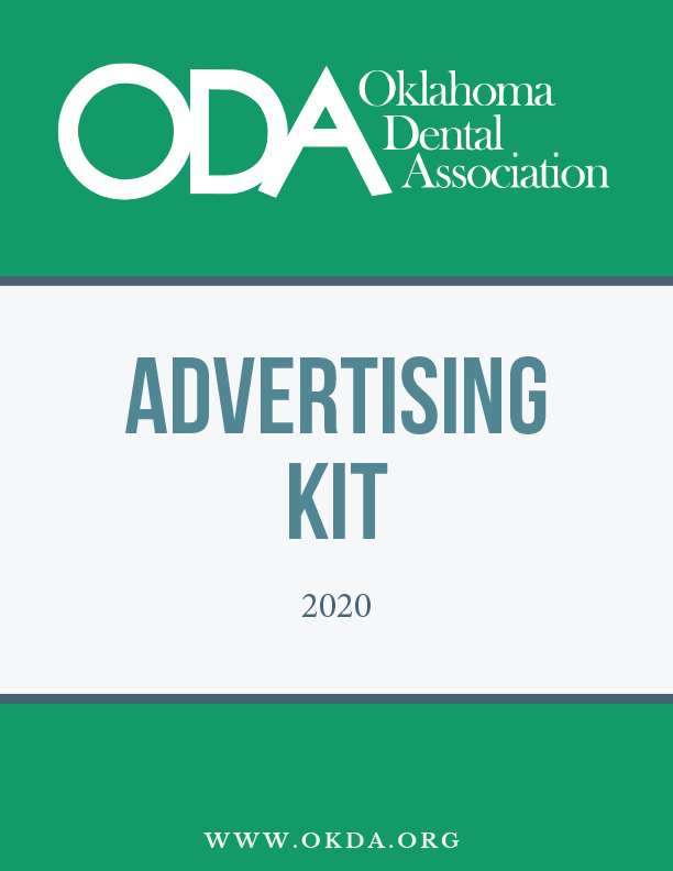 2020 ODA Advertising kit cover page